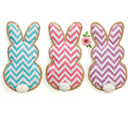 Chevron Wall Hanging Bunny
