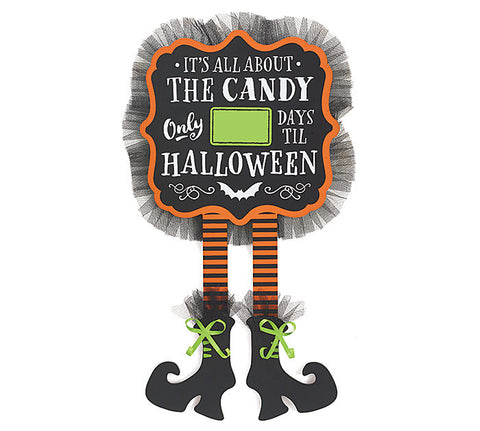 Halloween Countdown Wall Hanging