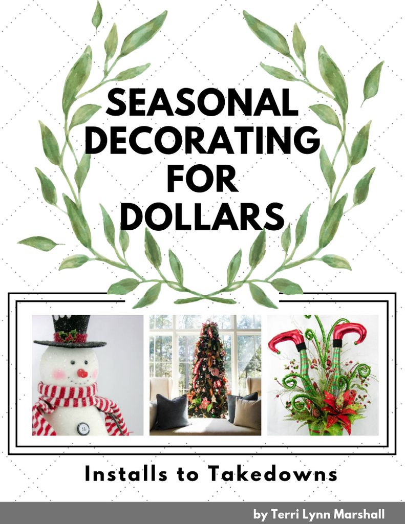 Seasonal Decorating for Dollars E-Book