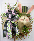 Rustic Rabbit Wreath
