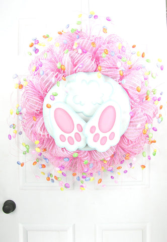 Bunny Bottom Wreath
