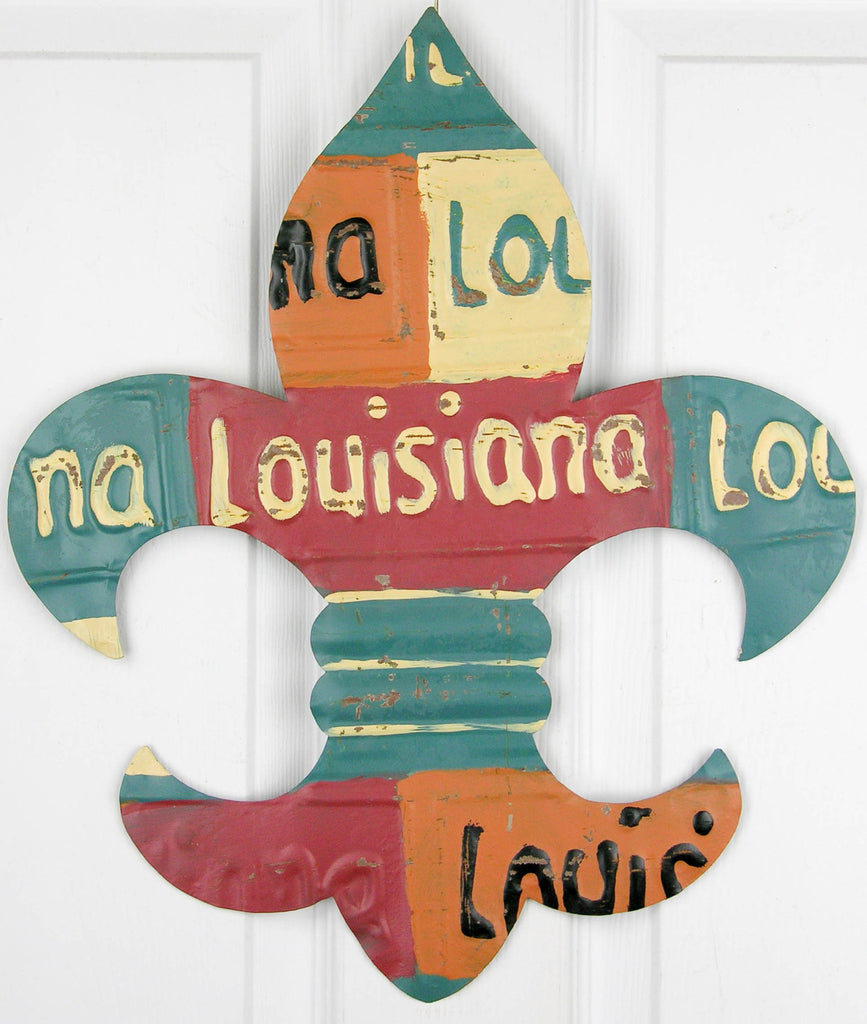 Louisiana License Plate Fleur-de-lis