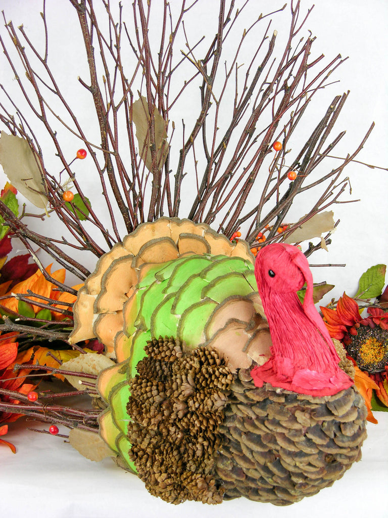 Woodchip Turkey with Twig Tail
