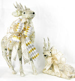 Paper Birch Reindeer Set