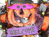 Halloween Welcome Wreath