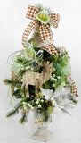 Woodsy Bell Christmas Tabletop Tree