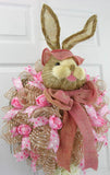 Tulip Bellied Bunny Wreath