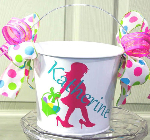High Heeled Easter Bucket