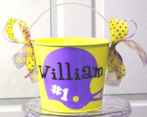 Boy Team Easter Bucket