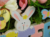 Easter Sign Basket Arrangement
