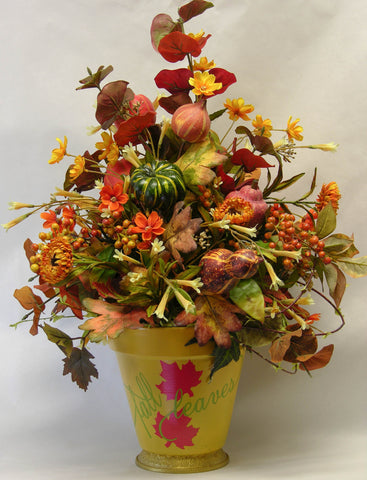 Fall Leaves Arrangement