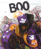 Bats and Boos Halloween Swag