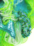 Jeweled Mermaid Wreath