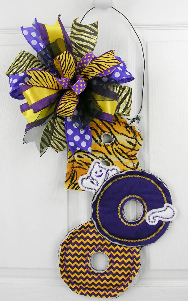 Tiger Boo Door Hanger