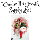 Windmill Wreath Tutorial