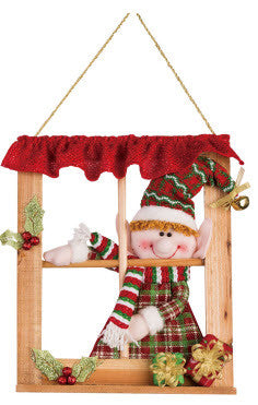 Plush Elf Window