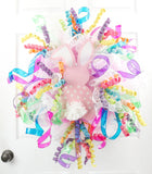 Whimsical Jelly Ribbon Easter Wreath