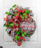 Christmas Buffalo Plaid Wreath