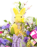 Easter Bunny Basket Arrangement
