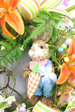 Easter Bunny Grapevine Wreath