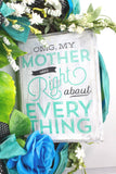 Mothers Day Grapevine Wreath