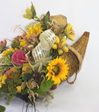 Fall Cornucopia Arrangement