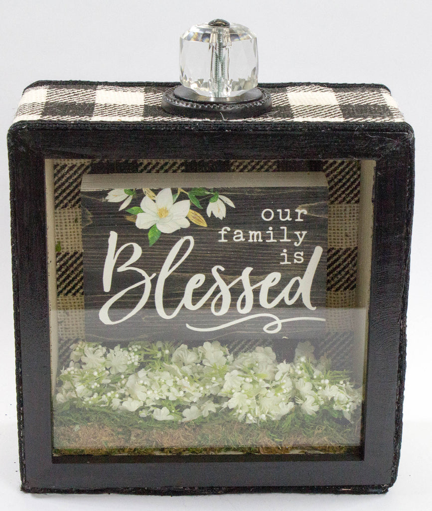 Our Family is Blessed Frame