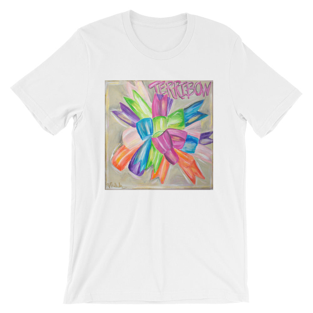 Short Sleeve Unisex Terri Bow T-Shirt