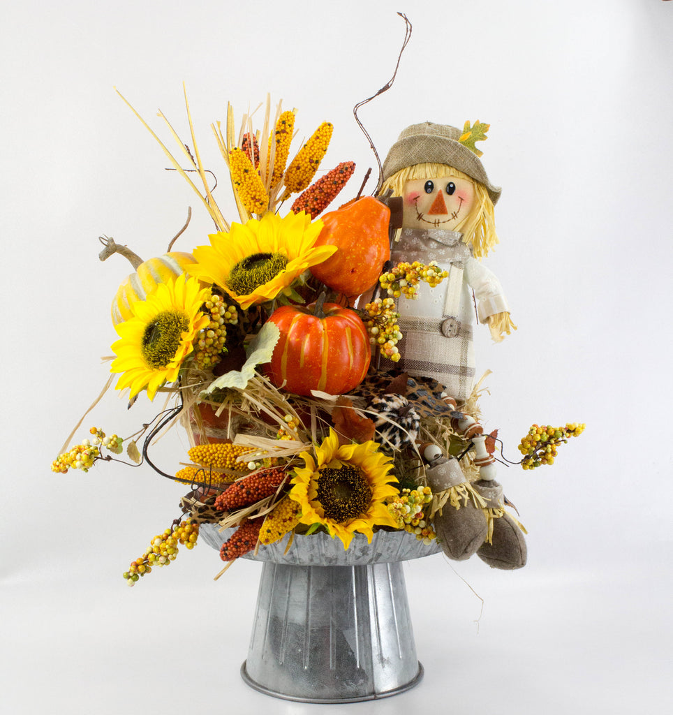 Scarecrow Fall Arrangement