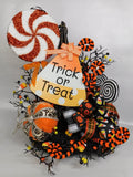 Candy Corn Trick or Treat Witch Hat