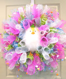 Loopy Chicky Wreath