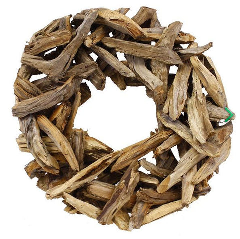 Cedar Slab Wreath
