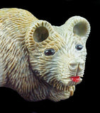 Picasso Marble Bear Carving American Indian Art