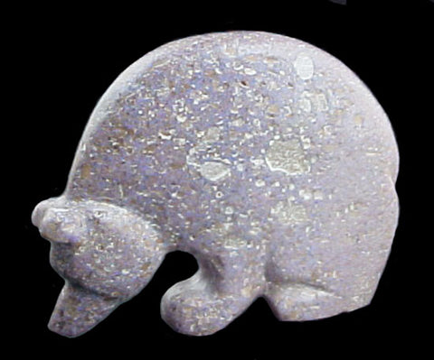 Andamooka Opal Bear Fetish Zuni Indian Stone Animal Carving