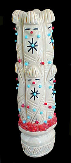 Olla Maidens Zuni Indian Stone Fetish Carving