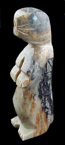 Prairie Dog Fetish Zuni Indian Stone Animal Carving