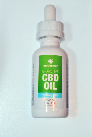 """Isodiol"" Hemp Oil Tincture CBD 1000mg"