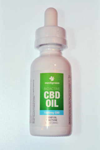 """Isodiol"" Hemp Oil Tincture CBD 1500mg"