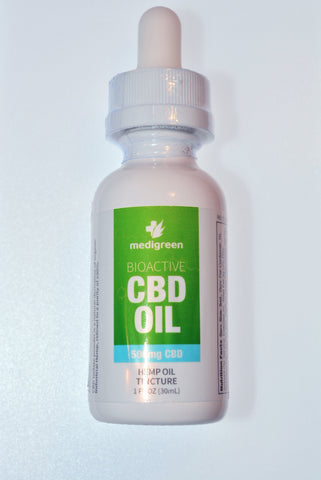 """Isodiol"" Hemp Oil Tincture CBD 500mg"