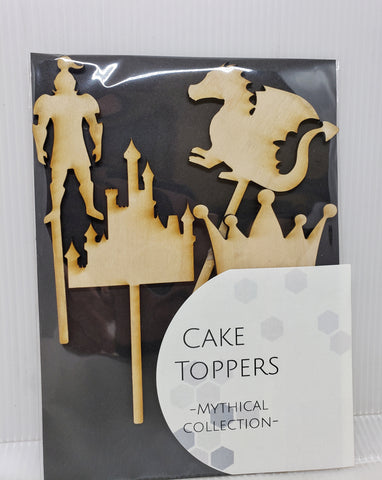 Cake toppers -  Mythical Collection