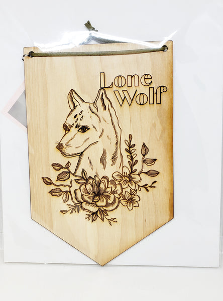 Wall Banner - lone wolf