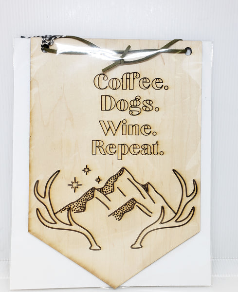 Wall Banner (coffee...)
