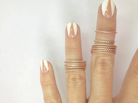 Gold filled ring/minimal