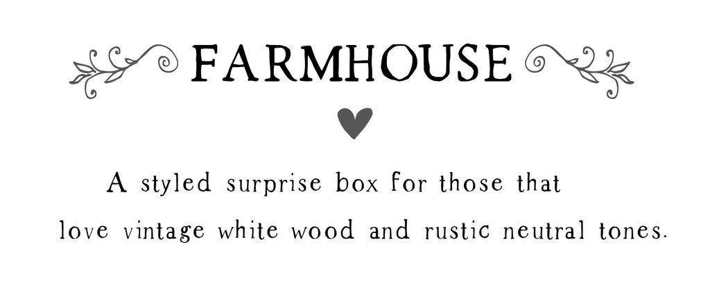 Spring Box- Large Farmhouse