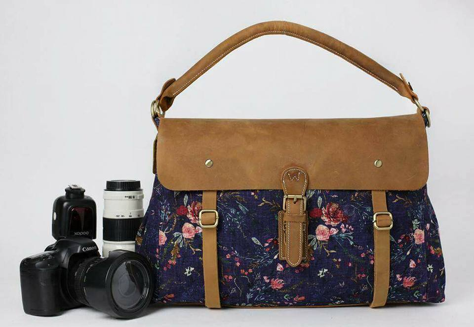 NEW!- Wandering Gypsy Tote- Grape Fable Floral