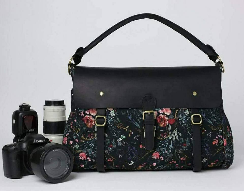 PRESALE- NEW!- Wandering Gypsy Tote- Black Fable Floral