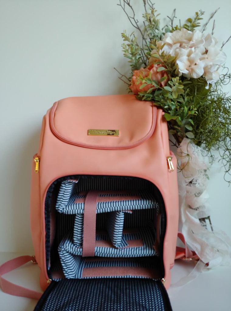 CLEARANCE- The Backpack- Summer Salmon