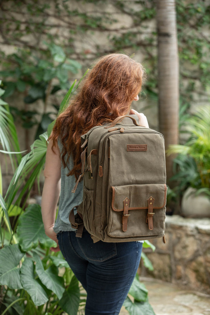 Forest Folk- Camera Backpack