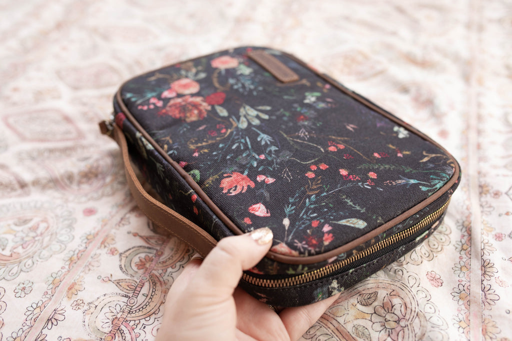 PRESALE- Slim Organization Case- Black Fable