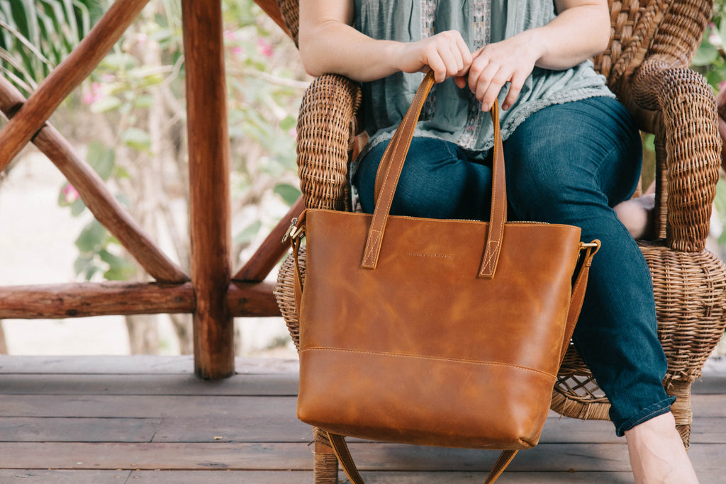 Mini Everyday Bag- Vintage Brown/Playa